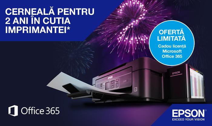 Epson Microsoft 365 Promotion